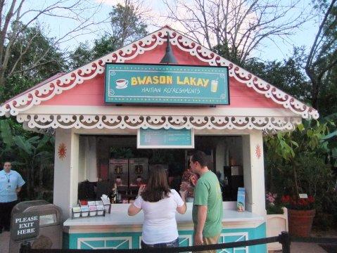 Haiti Refreshment Kiosk