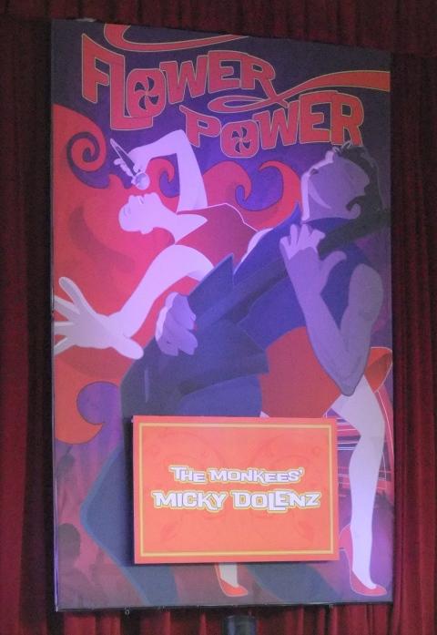 Flower Power Concert Poster