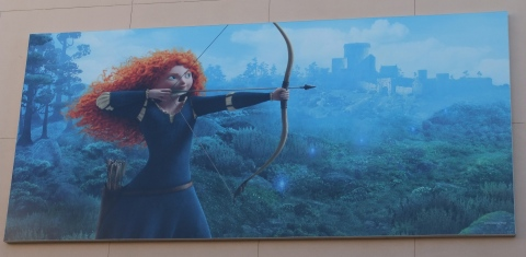 """Brave"" Billboard in Hollywood Studios"