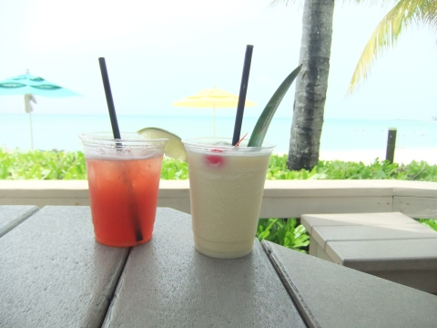 Tasty cocktails from Castaway Air!