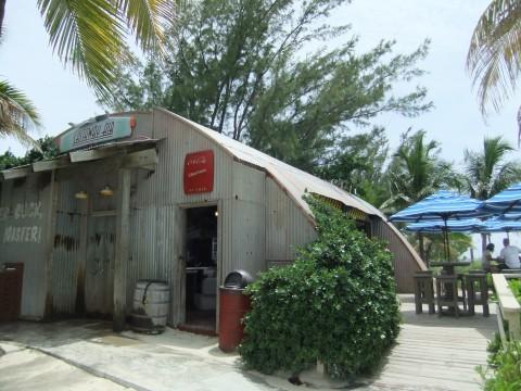 Castaway Air bar at the adult beach on Castaway Cay
