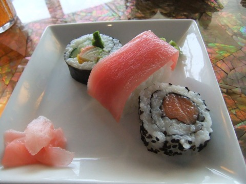 Sushi from Cabanas Lunch Buffet