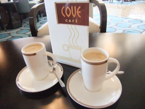 Delicious Chai Latte at the Cove Cafe