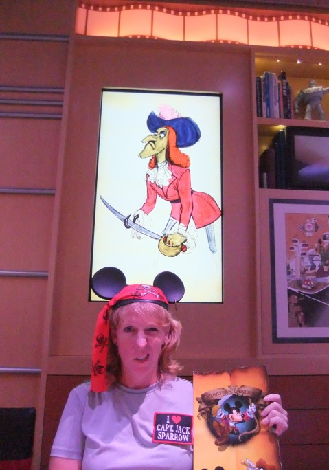 Arrrgh! Pirates menu night at Animator's Palate