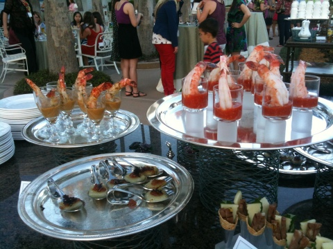 Food Blog Forum opening reception at the Grand Floridian