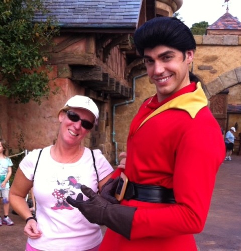 Hey Gaston! Watch those hands!