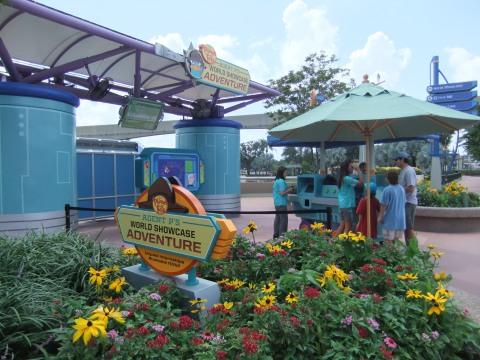 Agent P World Showcase Adventure Kiosk