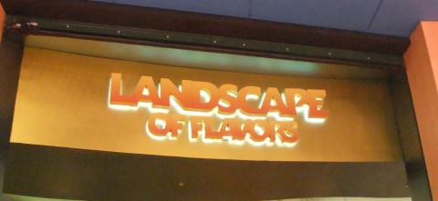 Landscape of Flavors Food Court at the new Art of Animation Resort