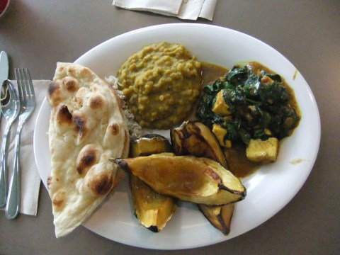 Indian-inspired eats at the Landscape of Flavors Food Court