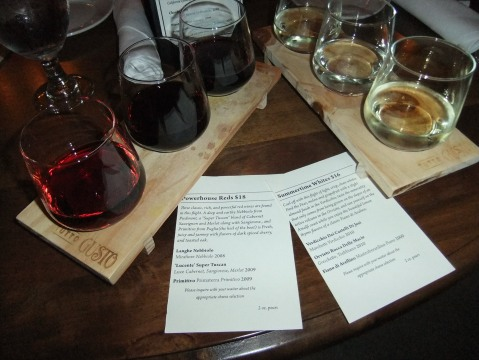 New Wine Flights at Tutto Gusto