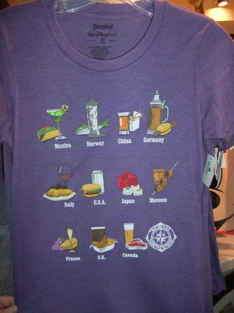 An Eating & Drinking Around the World shirt!