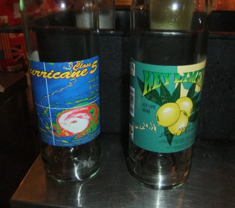 Fruit Wines at the Florida Local Booth