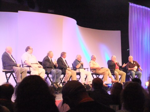 Panel of men who were involved with the building and opening of Epcot hosted by Jason Surrell