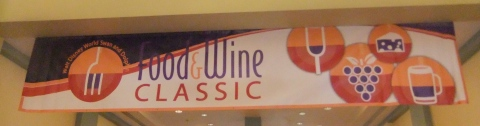 Food & Wine Classic Banner