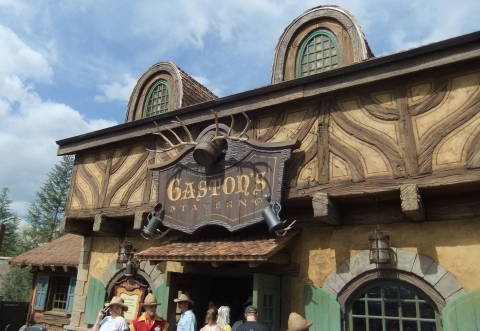 Exterior of Gaston's Tavern
