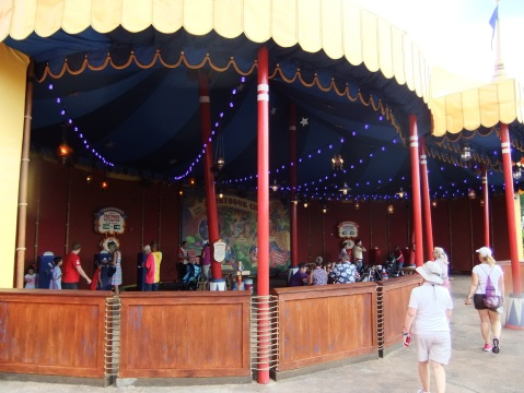 Storybook Circus Fastpass area