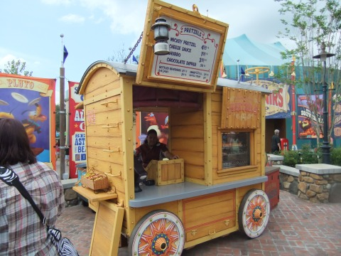 Food cart in Storybook Circus