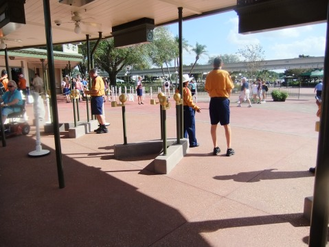"New Magic Kingdom entrance area for use with the ""Next-Gen"" wristbands"