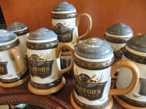 Gaston's Tavern (I'm sure not for beer) Steins