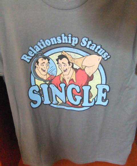 And yet another Gaston shirt...