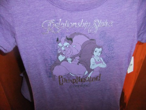 "Belle and Beast ""Relationship Status"" Shirt"