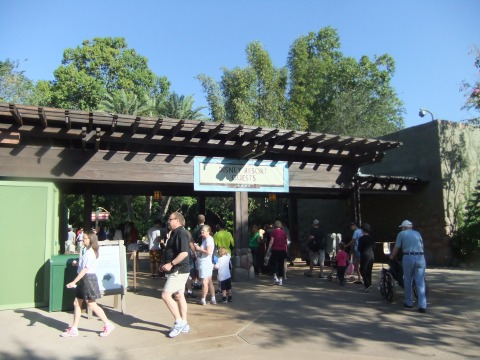 Animal Kingdom entrance area