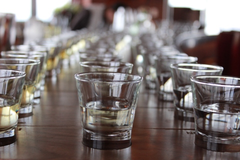 Tequila Seminar in the Meridian Bar