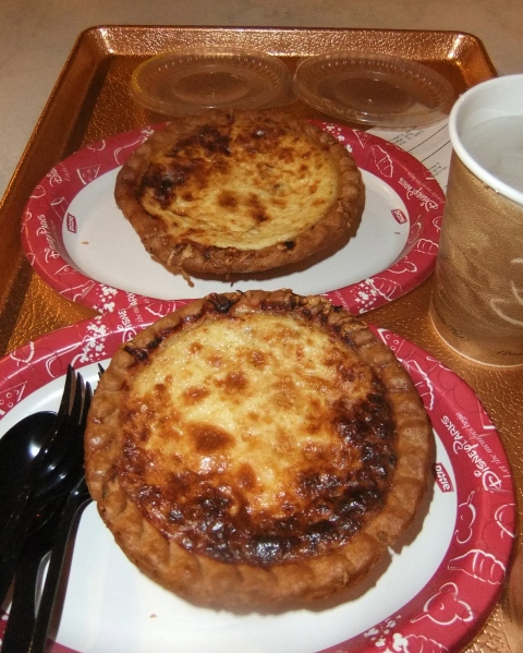 Quiche Lorraine (top), and well, Quiche Lorraine