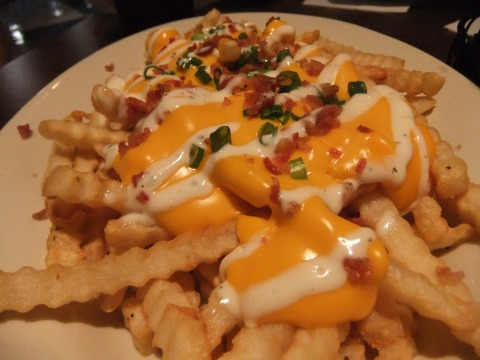 Loaded Fries at Splitsville