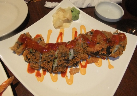 Crab Rangoon Roll