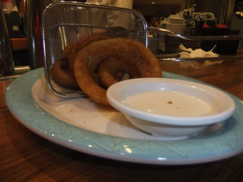 Onion Rings at Tune in Lounge