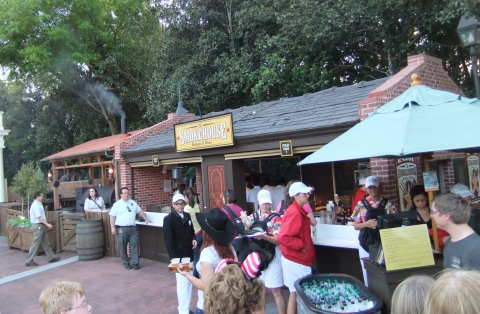 The Smokehouse in the American Adventure