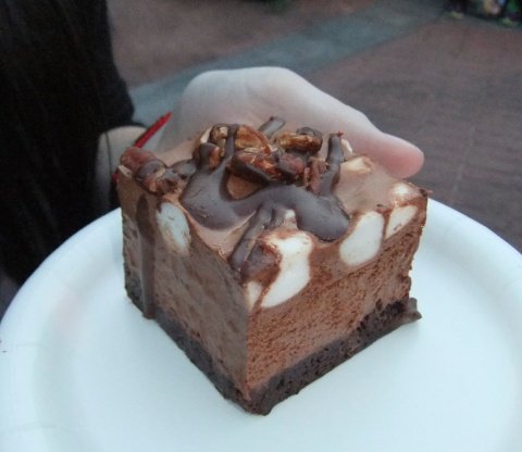 Rocky Road Brownie Mousse