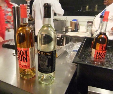 Hot Sun Tomato Wine and 40 Karat Carrot Wine from Florida Orange Groves Winery