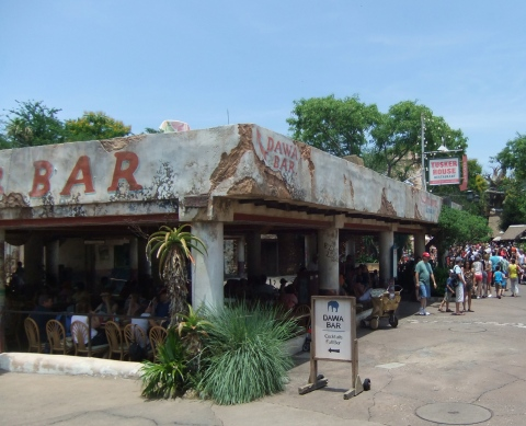 Dawa Bar in Harambe Village