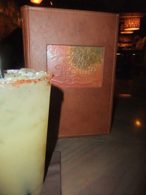 Pineapple Margarita at La Cava del Tequila