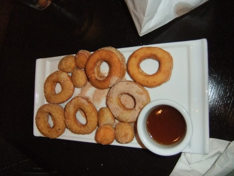 Drunken Doughnuts - Maple liquor glaze