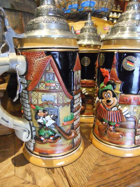 Epcot Germany Stein with characters