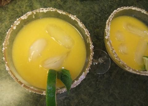 Honey Mango Margarita