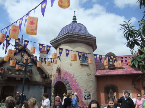 """Tangled"" Themed Restrooms in the Magic Kingdom"
