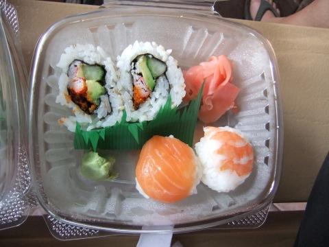 Combo Sushi from Kabuki Cafe