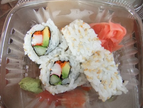 California Roll from Kabuki Cafe