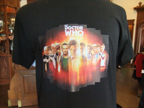 New Doctor Who shirt featuring all the TV Doctors