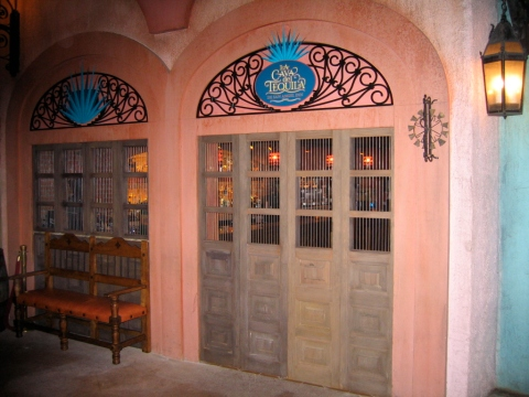 The outside of  La Cava del Tequila before the official opening circa August 28. 2009