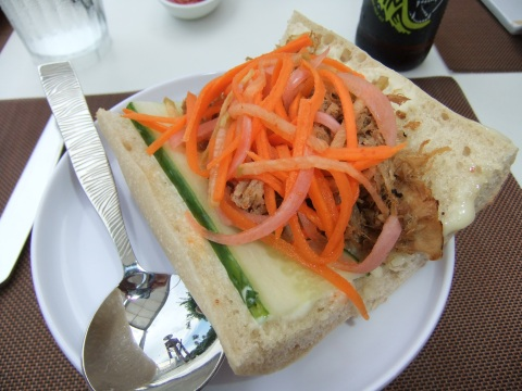 Braised Pork Banh Mi
