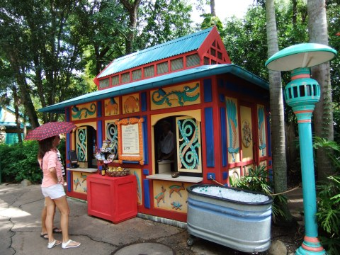 Gardens Kiosk on Discovery Island