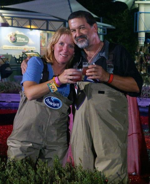 Cheers to you Cranberry Bog... we hope to see you back soon!  (Photo courtesy Papa Harry)