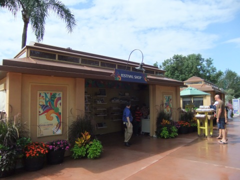 "Gift shops open early on the Thursday before the ""official"" opening of the Festival"