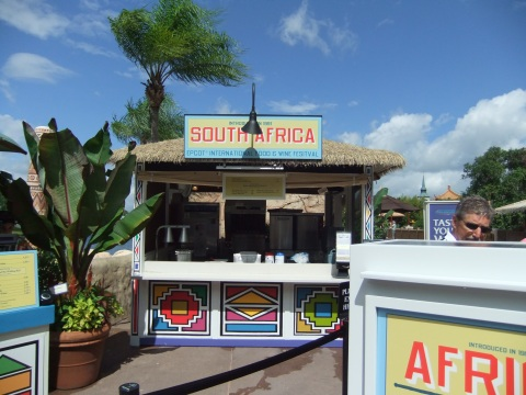 """South Africa"" booth"