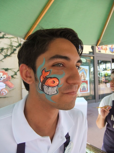 Best face-paint ever!